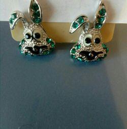 Earrings bunny