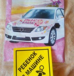 Car decoration magnets