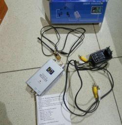 Приемник видео беспроводной JMK Radio AV Reciver