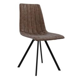 METAL CHAIR HM8040.03 JUSTIN WITH SEAT PU K