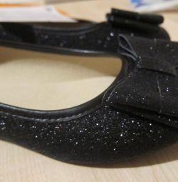 НОВЫЕ нарядные туфли-лодочки, 35-36 размер