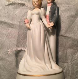 Mini Ceramic Newlyweds