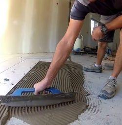 Ремонт и укладка плитки в Перми