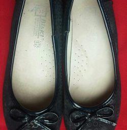 Παπούτσια μπαλέτου για κορίτσια 33 μέγεθος