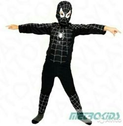 Carnival costume black Spiderman