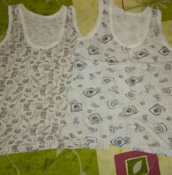 Children's T-shirts 2pcs p.104 ... I'll give a bunch for 60r In about