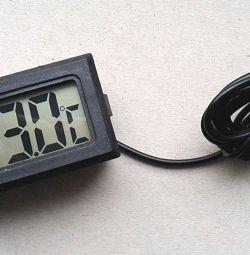 Ψηφιακό θερμόμετρο με αισθητήρα τηλεχειρισμού (νέο)