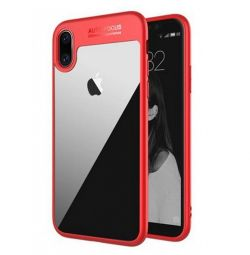 ROCK Clarity iPhone X Case Red