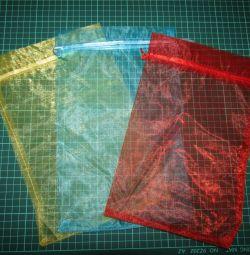 Подарочный мешочек из органзы 20*30