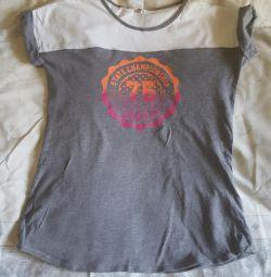 Kızların büyümesi için tişört 151-160