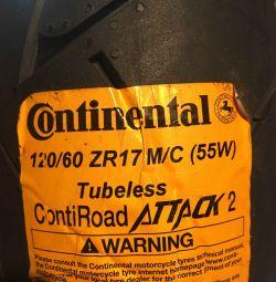 Continental ContiRoadAttack2 120/60 R17 55W