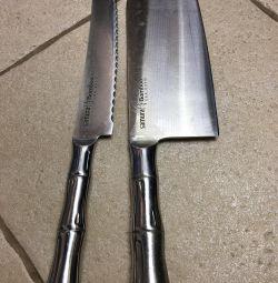 Samura bambu knives