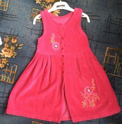 Платье-халат 110-116