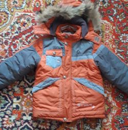 Jacket for a boy in winter