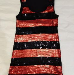 Tunic with sequins NEW, size 40-42-44