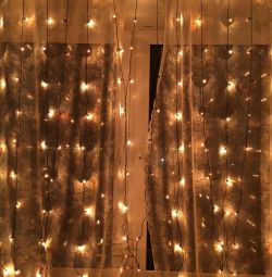 Garland curtain rain 2.5h / 3w led