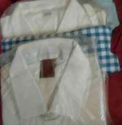 Men's shirts, long sleeves, imported, size