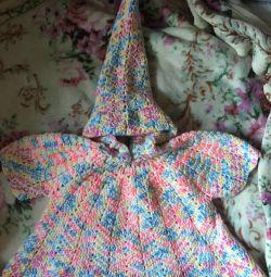 ?♂️✅ Original dress with hood hand made?