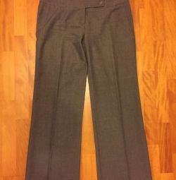 Pantaloni de culoare gri