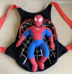 Children's backpack, rag