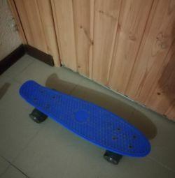 Jante luminoase pentru skateboard