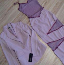 La rochia de absolvire - trei culori de liliac
