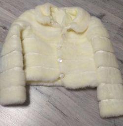 Palton de blană de nuntă