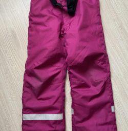 Χειμερινά παντελόνια παιδικής ηλικίας Lassie 116-122