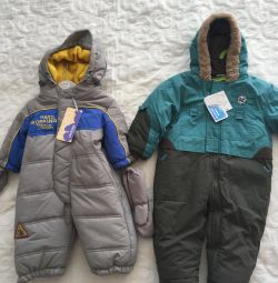New Overalls for boys -68-80 solutions