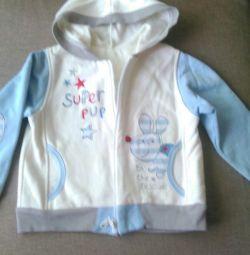 Jacheta olimpică de pe micul fleece al râului 92