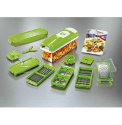 Slicer multifuncțional de legume Nicer Dicer Plus