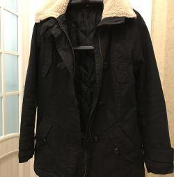Демисезонная утеплeнная куртка, 46