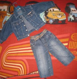 Denim jacket and jeans p 86-92