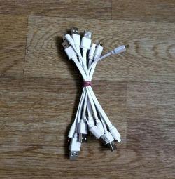 Cabluri USB pentru banca de alimentare