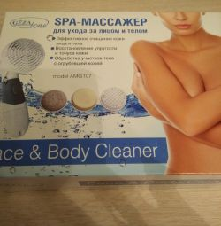 Spa massager for face and body