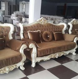 Upholstered furniture for the living room