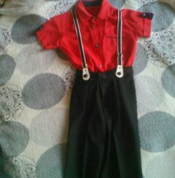 Shirt + suspenders