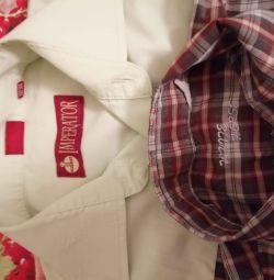 Сорочки шкільні для хлопчика 146 / 152см.