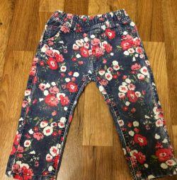Pantaloni Corduroy SWEET BERRY BABY