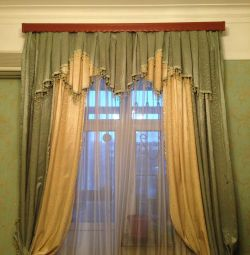 Curtains with Lambrequin