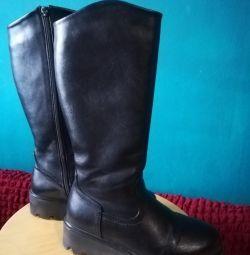 Χειμερινές μπότες για κορίτσια 35 rr