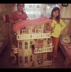 Huge house for barbie