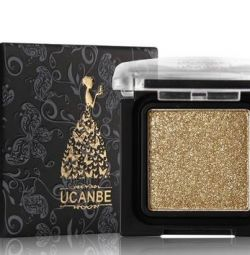 Ucanbe Gold Eye Shadows New