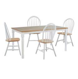 TABLE SET 5мм в колір білий з натуральною поверхнею