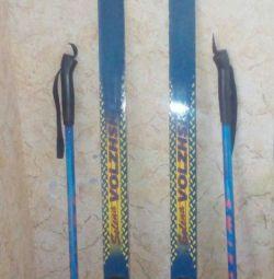 Cross-country schiuri ca noul nu doar patinaj