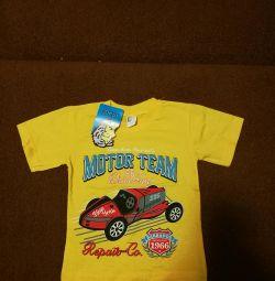 New T-shirt р.92