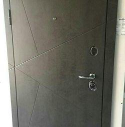 Burglar-resistant door