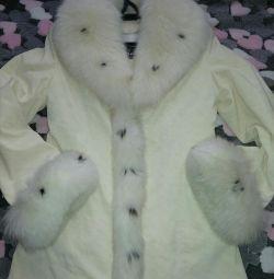 Новая куртка. Тeплая пехора. Даром.