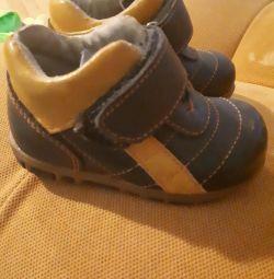 Παπούτσια μεγέθους 21