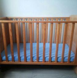 Ξύλινο κρεβάτι για παιδιά